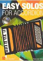 Easy solos for accordion